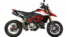 Moto - News: Miglior sound per la Ducati Hypermotard 950 con lo scarico Mivv MK3