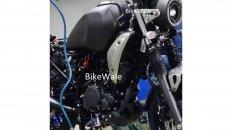 Moto - News: Yamaha FZ-X: foto spia della piccola naked in stile XSR