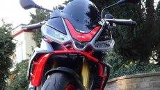 Moto - News: Aprilia Tuono V4 2021: dal web spuntano nuove foto