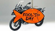 Moto - News: Pesce d'Aprile: gli scherzi più (o meno) riusciti del motociclismo