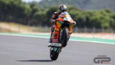 Moto2: Il team Ajo domina i warm up: Gardner 1° in Moto2, Masia in Moto3