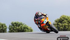 Moto2: Gardner aumenta il ritmo a Portimao, è 1° davanti a Roberts