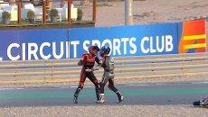 Moto3: Rissa in pista a Losail: 1000€ di multa e penalità per McPhee e Alcoba