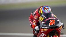 Moto3: Portimão: la pioggia ferma le FP2, Gabriel Rodrigo davanti a tutti