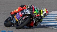 MotoE: Non solo Dovizioso, Aegerter comanda i test MotoE di Jerez