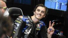 """MotoGP: Marini: """"I primi dieci in MotoGP sono degli animali, domani gomiti larghi"""""""