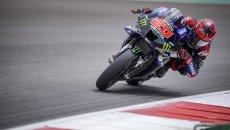 MotoGP: Bagnaia perde la pole per bandiera gialla, la eredita Quartararo. 6° Marquez