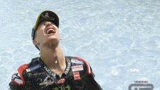 """MotoGP: Quartararo: """"La Yamaha è migliorata, come anche la mia mente"""""""