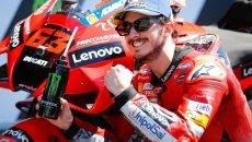 MotoGP: Bagnaia-Ducati: a Jerez si punta sul rosso! Rossi quotato solo a 35!