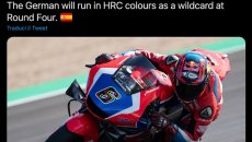 MotoGP: Factory HRC colours for Stefan Bradl, wildcard at Jerez