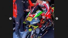 """MotoGP: Aleix Espargarò: """"Capirossi nuovo pilota Aprilia! Un giovane talento"""""""