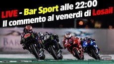 MotoGP: LIVE - Bar Sport alle 22:00 - Le prime libere MotoGP a Losail 2