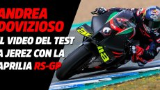 MotoGP: VIDEO - Andrea Dovizioso squeezes the Aprilia RS-GP 2021 at Jerez