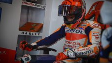 "MotoGP: Marquez's tears: ""Today I felt like a MotoGP rider again"""