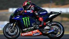 """MotoGP: Quartararo: """"Oggi sono stato conservativo, ho del margine"""""""