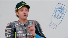 "MotoGP: VIDEO - Valentino Rossi confesses: ""I eat pizza with mayonnaise"""