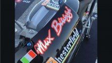 News: Max Biaggi torna in sella all'Aprilia 250 a Misano durante la All Stars