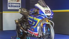 SBK: Ponsson porta in pista la Yamaha R1 con gli storici colori Alstare