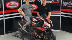 SBK: Joey Thompson in 2021 BSB with NP Motorcycles team