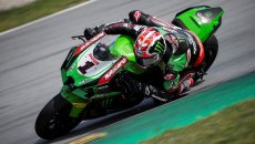 SBK: Rea and new Kawasaki faster than Crutchlow with Yamaha MotoGP in Aragon!