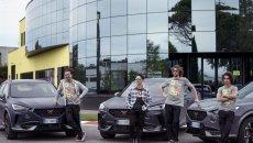 Auto - News: Cupra diventa partner dell'Academy di Valentino Rossi per tre anni