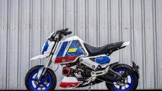 Moto - News: Honda MSX 125 Gundam style: la piccola moto vestita da grande robot