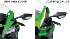 Moto - News: Kawasaki Ninja ZX-10 R, Aprilia RSV4, Yamaha MT e i frontali 2021 discussi