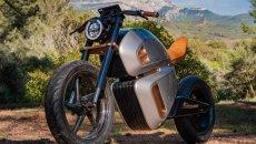 Moto - News: Nawa Racer, l'elettrica che fa il verso alla Lamborghini Sian