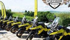 Moto - News: Suzuki V-Strom Academy 2021: corsi di guida per tutti