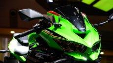 Moto - News: Kawasaki ZX-4R, per il futuro una sportiva 400 cc a 4 cilindri