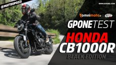 Moto - Test: Video prova Honda CB1000R Black Edition 2021: la più bella da guidare su strada?