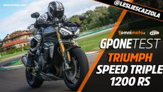 Moto - Test: Prova Triumph Speed Triple 1200 RS: la Regina del 3 cilindri è tornata