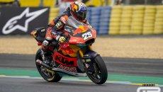 Moto2: Gara ad eliminazione: Fernandez vince dominando tra le cadute di Le Mans