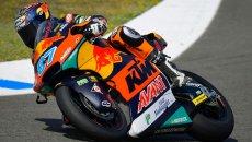 Moto2: Gardner da record nella FP3 di Jerez, 2° Di Giannantonio, 7° Bezzecchi