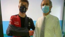 Moto2: Sindrome compartimentale: operato anche Tommaso Marcon