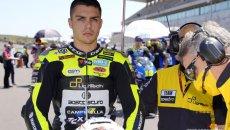 Moto2: Frattura al polso destro per Montella: GP di Le Mans finito per lui