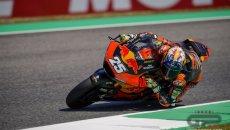 Moto2: FP3: Fernandez da record al Mugello, 5° Di Giannantonio