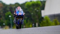 Moto2: FP1 a stelle e strisce con Roberts in testa, 2° Gardner, bene Arbolino
