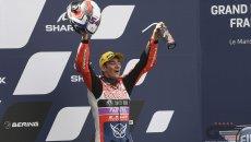"""Moto3: Rossi: """"Un podio per Gresini e papà, gli unici a credere sempre in me"""""""