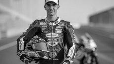 """Moto3: Il team PrustelGP nel nome di Dupasquier: """"continueremo a correre per Jason"""""""