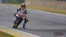 Moto3: Adrian Fernandez migliore delle FP3 ma non basta per la Q2, 3° Migno