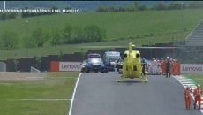 Moto3: UPDATE Terribile incidente al Mugello per Dupasquier: trasportato in elicottero in ospedale