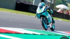 Moto3: Foggia profeta in patria al Mugello, Migno a terra al primo giro