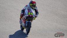 Moto3: Tatsuki Suzuki firma la terza pole consecutiva a Jerez, 3° Migno