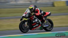 MotoGP: Savadori reckons he is going fast because the MotoGP bike in the wet is like an SBK