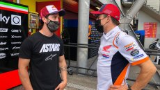MotoGP: Dovizioso and Marquez face off at Mugello, but this time in the garage