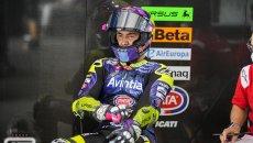 """MotoGP: Bastianini: """"Perdo sei decimi alle Arrabbiate, guido troppo da Moto2"""""""