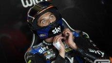 """MotoGP: Marini: """"Cercando di recuperare sono andato lungo, devo essere più preciso"""""""