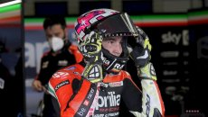 "MotoGP: A.Espargarò: ""I wanted a podium but we have to remember where Aprilia started from"""