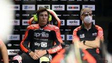 "MotoGP: Aleix Espargarò: ""faccio il tifo per uno junior team Gresini con Aprilia"""